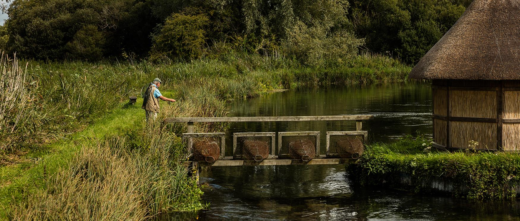 Fly Fishing on the River Test