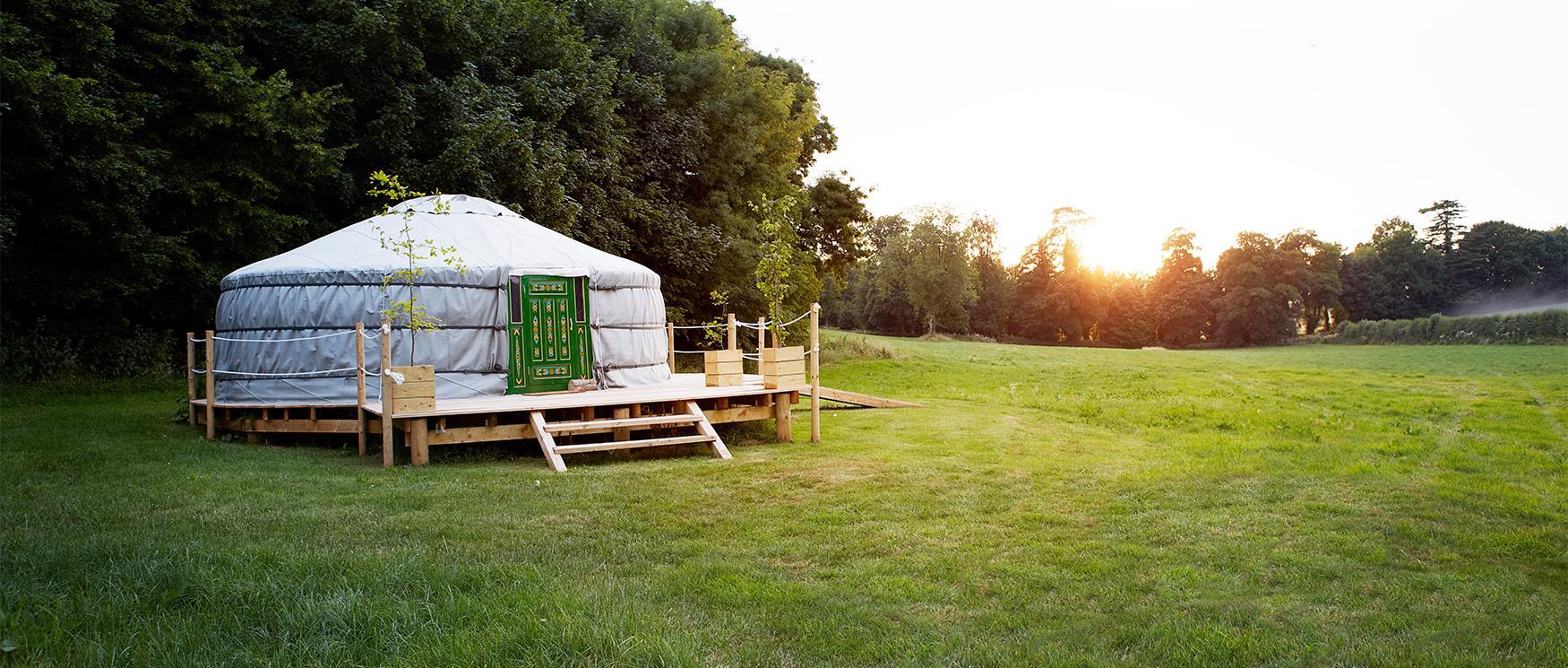 Yurt Glamping in Hampshire