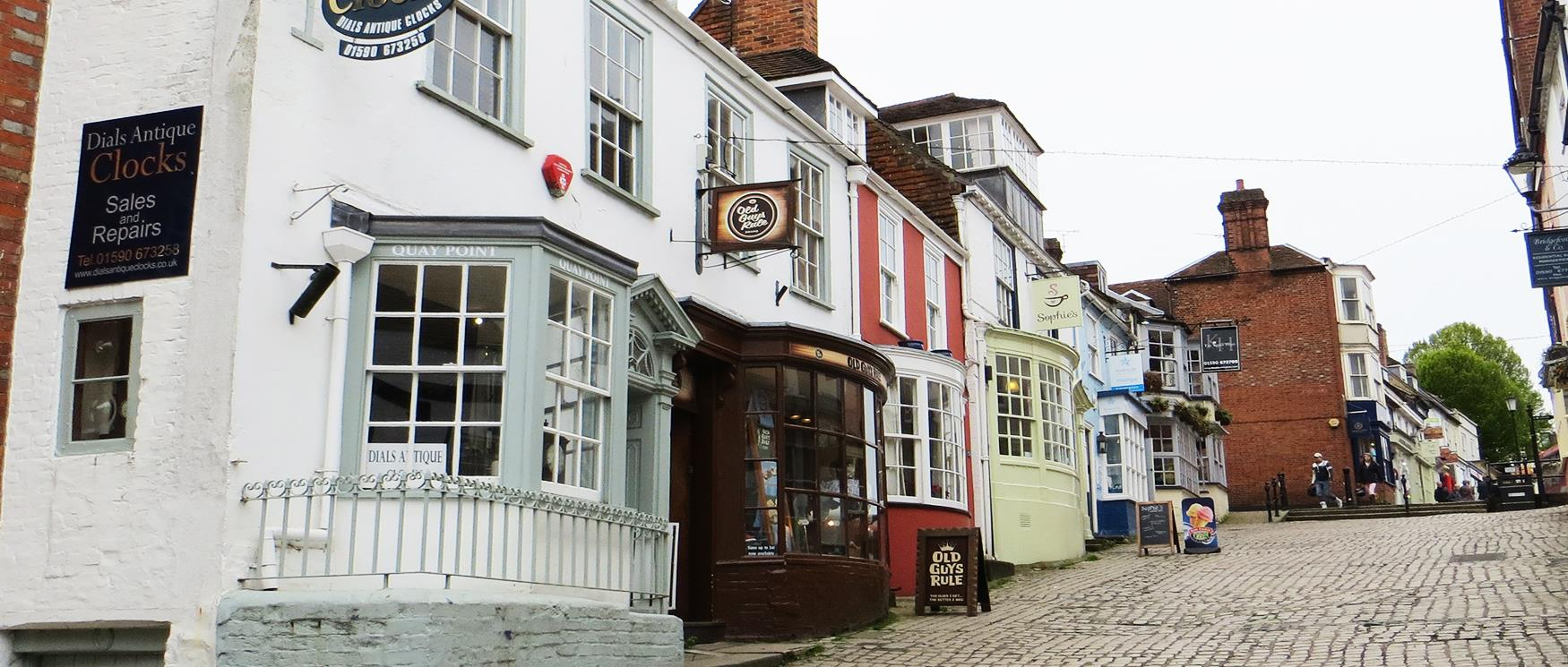 The Coastal Town of Lymington in the New Forest