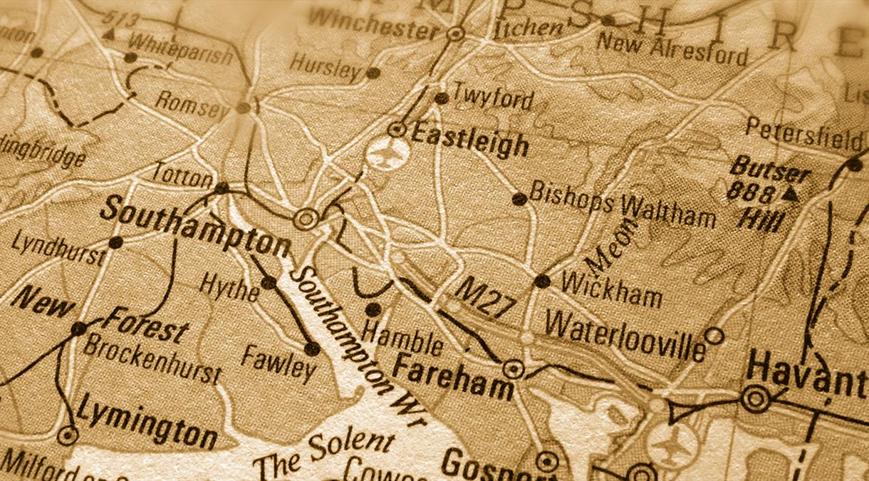 Maps of Hampshire