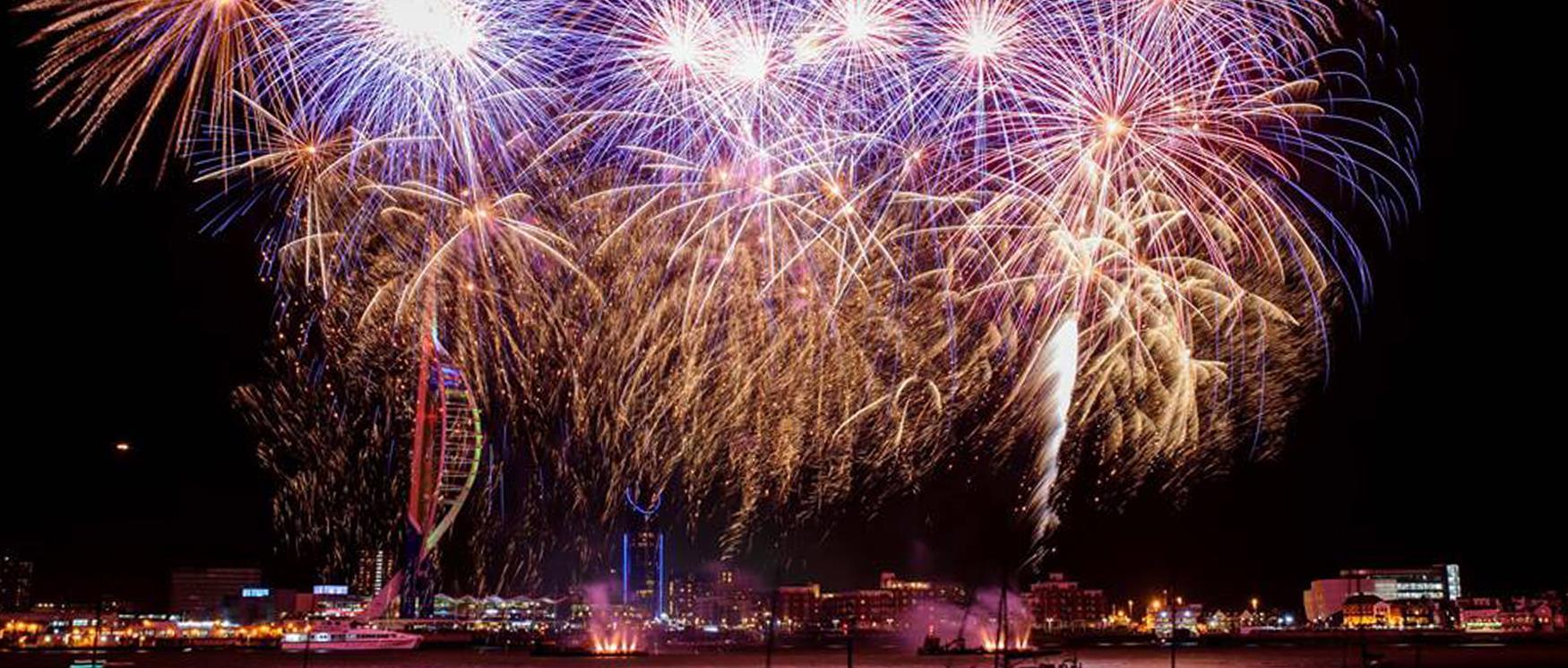 Fireworks in Portsmouth