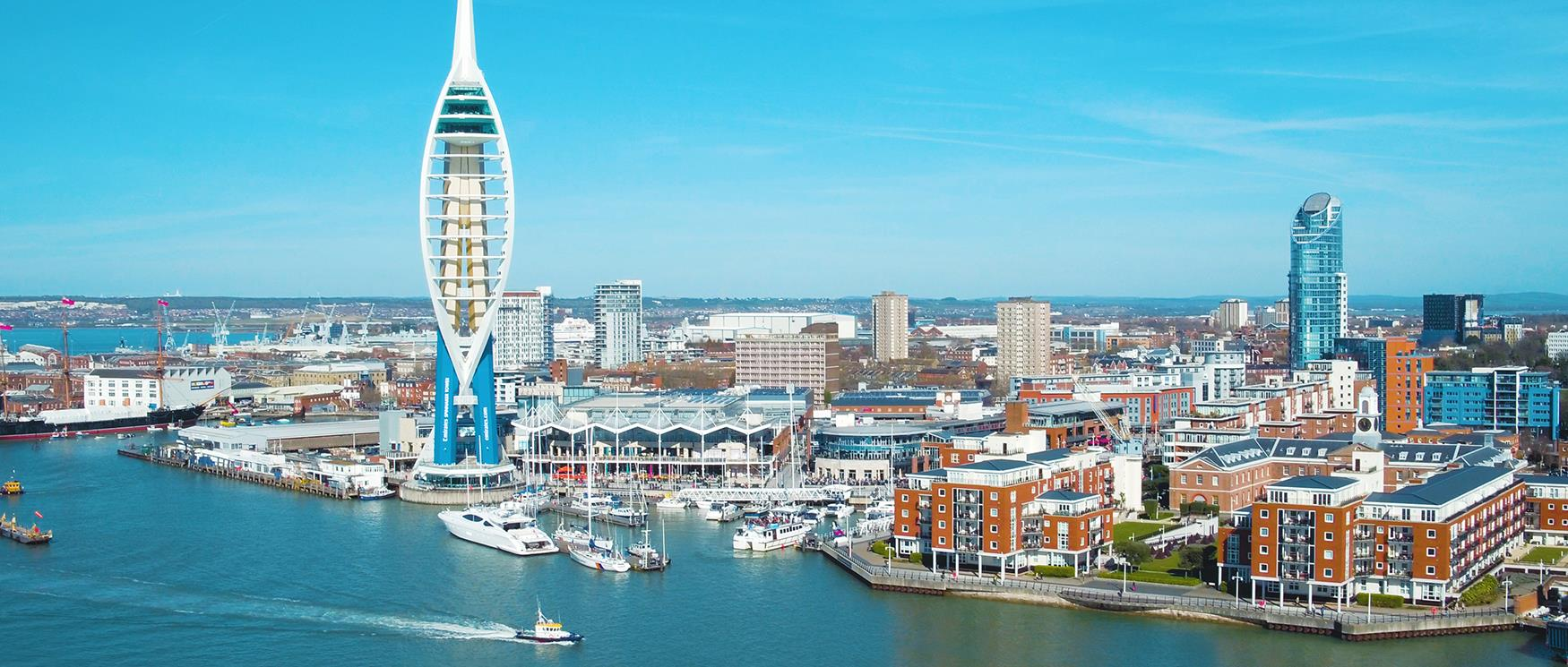 The city of Portsmouth
