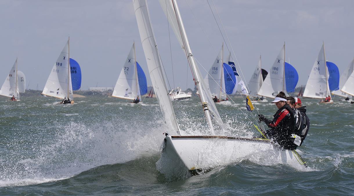 Sailing in Hampshire