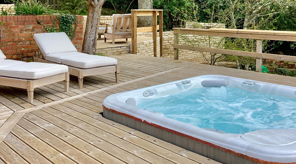 Self Catering Accommodation with outdoor space