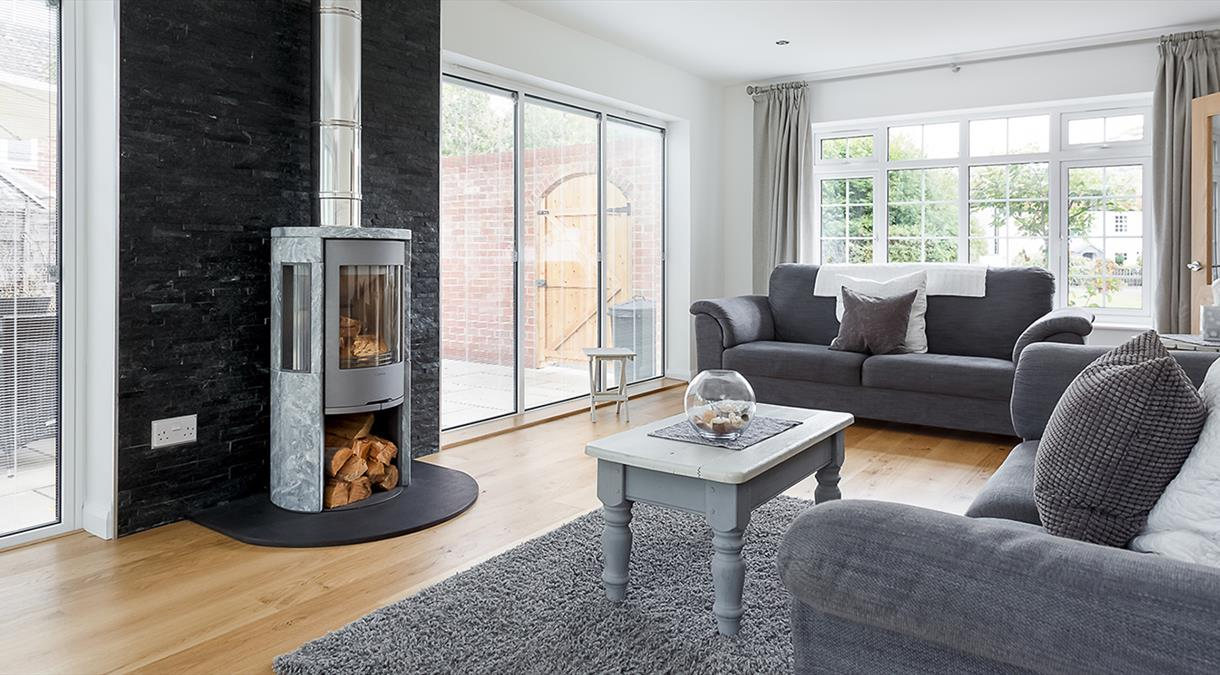 Inside Self Catering Property in Hampshire