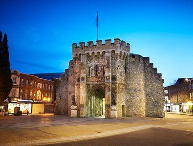 The city of Southampton