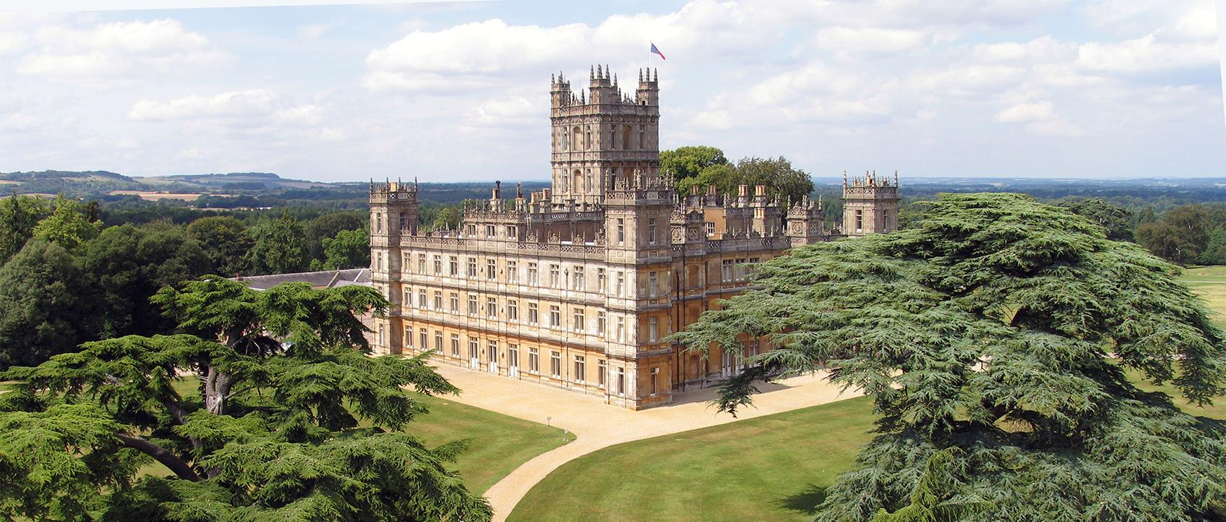 Highclere Castle Location for Downton Abbey