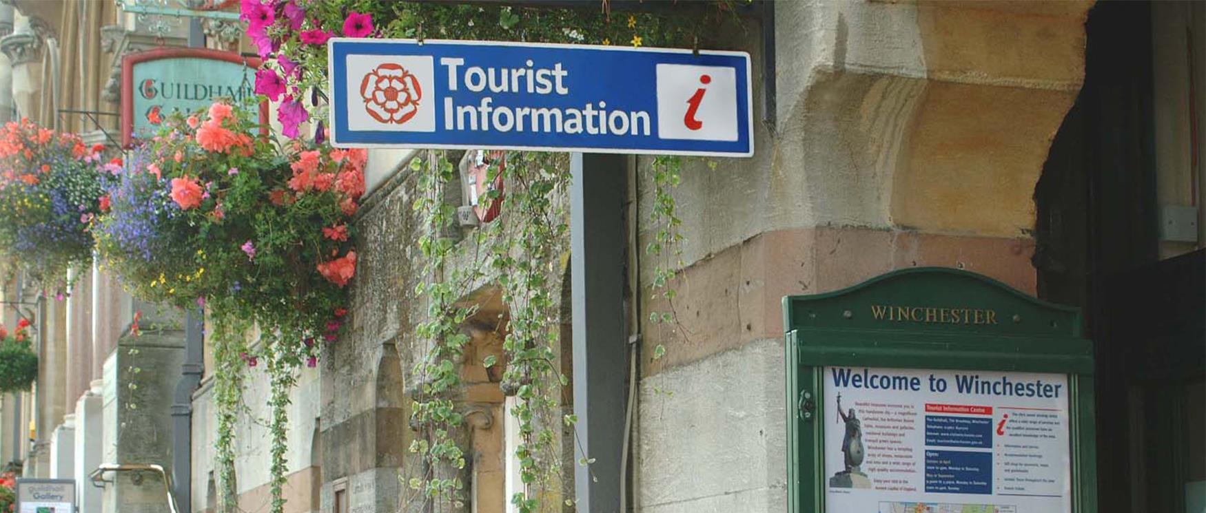 Hampshire's Tourist Information Centres
