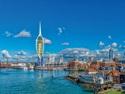 Spinnaker Tower - Panoramic View