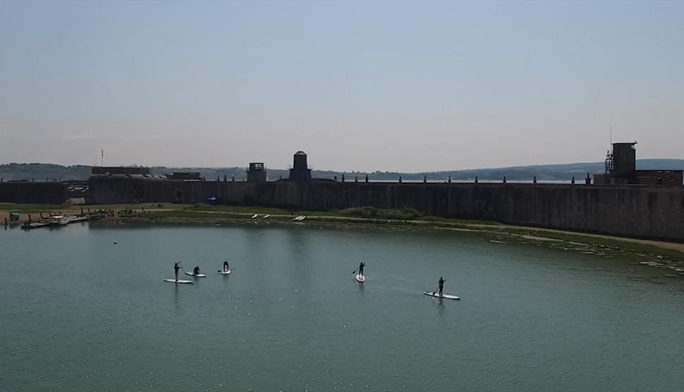 Stand Up Paddle Boarding Castle Experience
