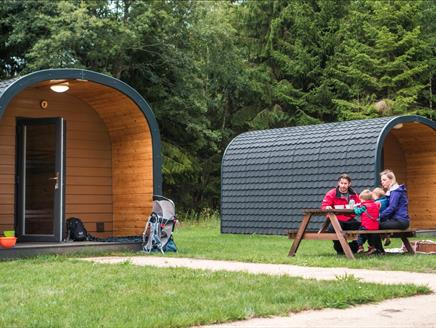 Runway's End Outdoor Centre Camping and Camping Pods