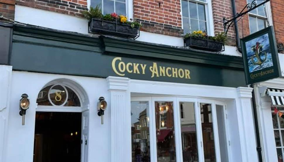 The Cocky Anchor in Romsey