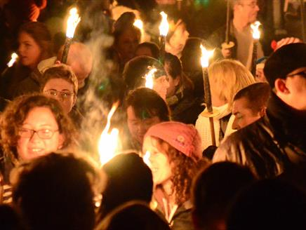 Winchester Fireworks and Bonfire