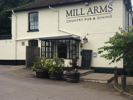 The Mill Arms near Romsey