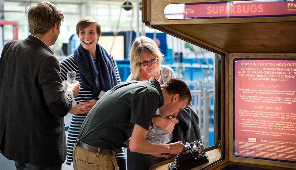 After Dark: An Evening For Adults at Winchester Science Centre