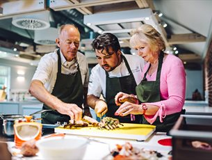 Cooking for Beginners at Season Cookery School, Lainston House