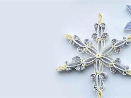 The Art of Christmas Quilling at Sir Harold Hillier Gardens