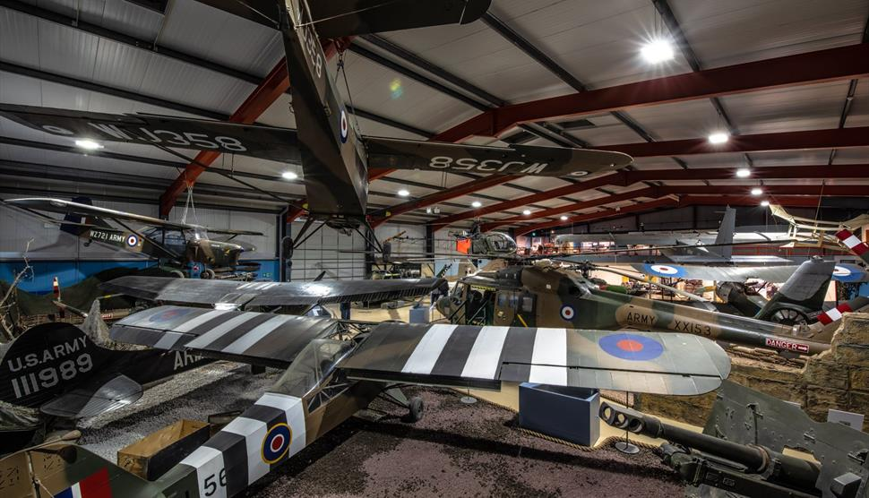 Army Flying Museum - Interior