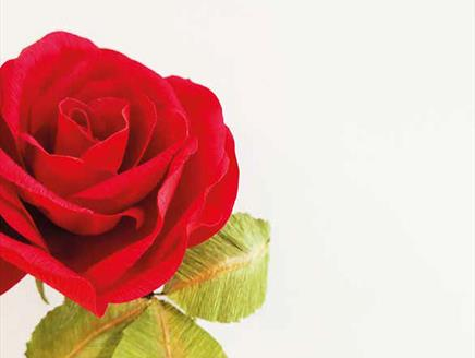 Make Your Own Paper Christmas Rose