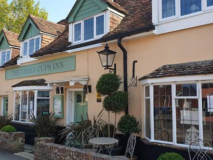 The Three Cups Inn in Stockbridge