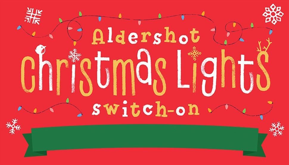 Aldershot Christmas Lights Switch On