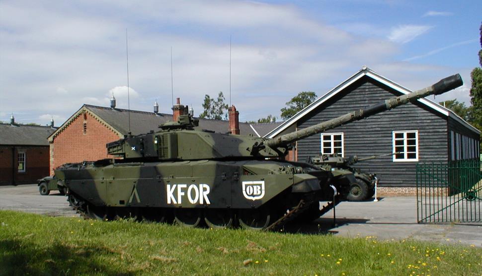 Tank at the Aldershot Military Museum