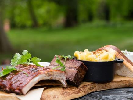 Posh BBQ at Season Cookery School, Lainston House