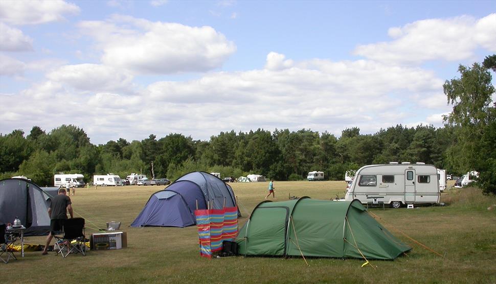 Basingstoke Canal Centre Campsite