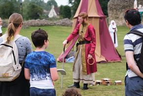 Adventure Games at Bishop's Waltham Palace