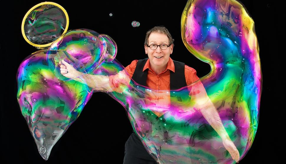 The Amazing Bubble Man at Theatre Royal Winchester