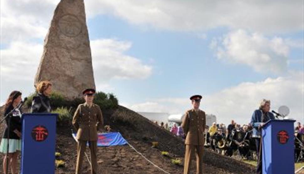 Hayling Island World War II Heritage Trail and COPP Memorial