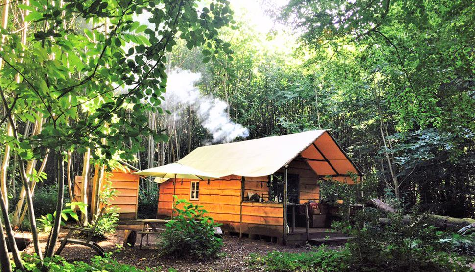 Coppicers Cabin at Adhurst - Off grid glamping