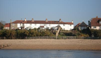 Cowes View cottage from the Solent