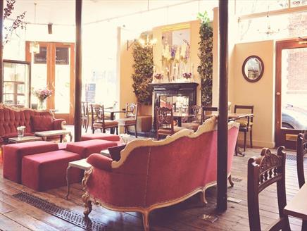 Image of the Garage Lounge