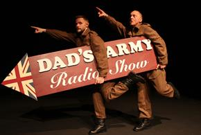 Press shot for Dad's Army Radio Show