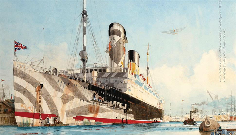 Dazzle: Disguise and Disruption in War and Art at St Barbe Museum and Art Gallery