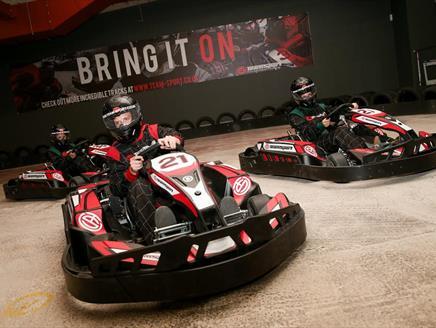 Team-Sport Indoor Karting Southampton