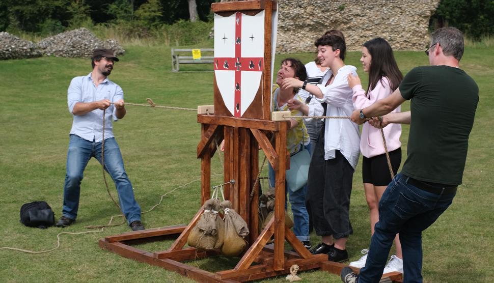 Adventure Games at Silchester City Walls