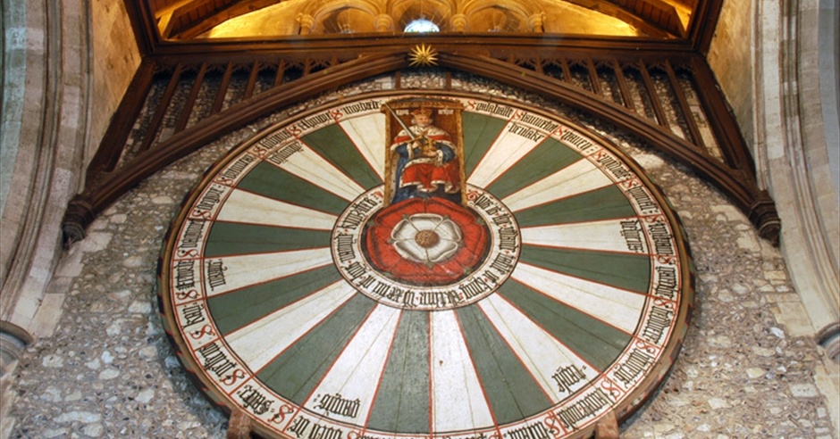 The Great Hall Visit Hampshire, Winchester Cathedral Round Table