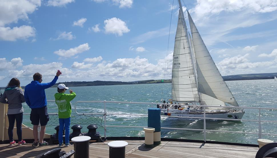 Steamship Shieldhall Trip to view the Fastnet Race