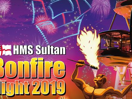 HMS Sultan Bonfire and Fireworks Night