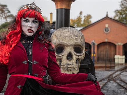 Ghost Train at Exbury Gardens
