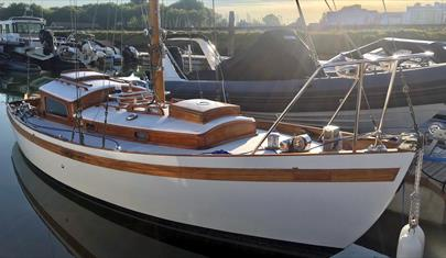 Classic Burmese Teak Yacht