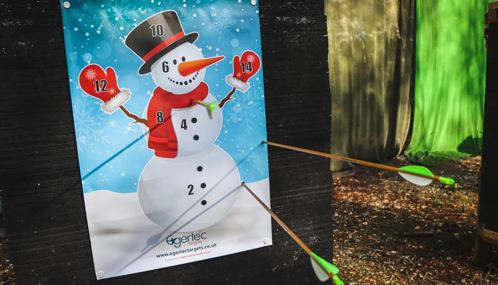 Festive Archery with New Forest Activities