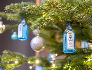 Christmas Cocktails at the Bombay Sapphire Distillery