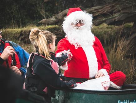 Christmas Canoe Paddle at New Forest Activities