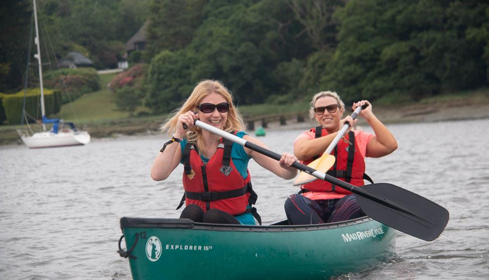 Ladies Only Paddles at New Forest Activities