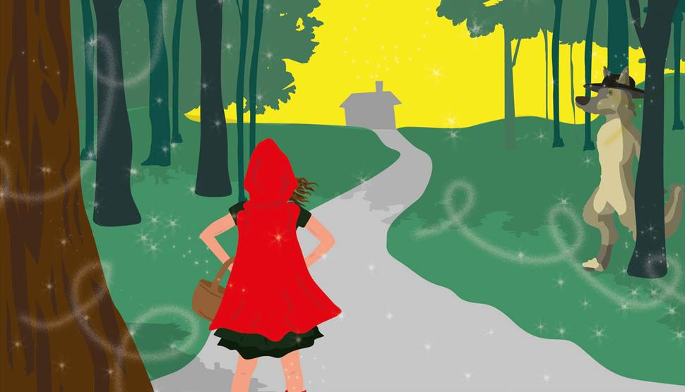 Little Red Riding Hood Christmas Tour at Forest Forge Theatre