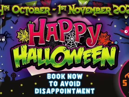 Happy Halloween at Paultons Park
