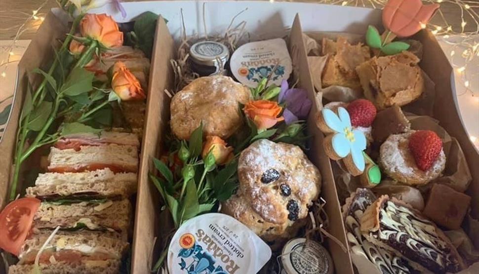 Cream Tea at Rosie Lea House - Lymington New Forest